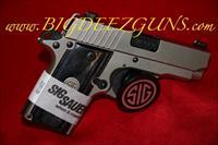 Sig Sauer P238 HD NICKEL 238-380-HD-NI .380ACP 1911 POCKET CONCEAL CARRY 6 ROUND