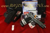 Sig Sauer 1911 TACPAC NON RAIL 45ACP TACTICAL PACK FREE SHIPPING NO FEES