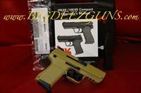 Heckler & Koch HK HK45 HK45C COMPACT V1 SAND DESERT TAN FDE FLAT DARK EARTH 45ACP SAFETY DECOCKING LEVER 45ACP 745031BB-A5