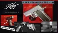 Kimber ULTRA STAINLESS TLE II 45ACP