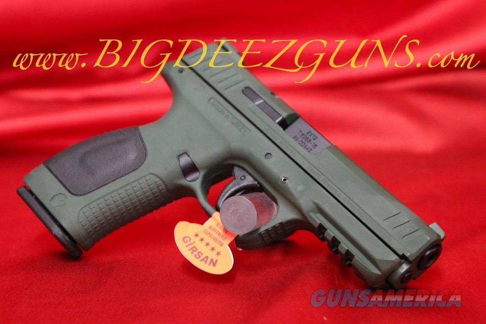 Zenith GIRSAN MC 28 SA 3 MAGS 15 ROUND 9MM HIGHLAND GREEN OD ARMY GREEN  TURKISH FREE SHIPPING NO CC FEE