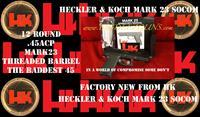 Heckler & Koch HK MARK 23 SOCOM 45ACP THREADED BARREL SAFETY DECOCKING LEVER 45ACP 12 ROUND 723001-A5
