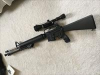 Olympic Arms 15A2 AR15 223 NATO with accessories