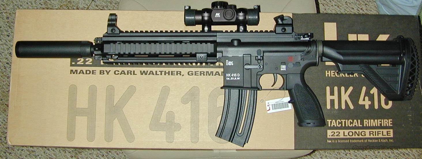 Compensator/Fake Suppressor for Umarex HK 416 22
