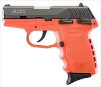 SCCY CPX1-CB PISTOL DAO 9MM 10RD BLACK/ORANGE SAFETY