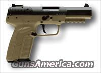 FN Five Seven Pistol 5.7x28mm FDE FNH 5.7 '' We ship to California''
