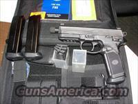 "FNX-45 Tactical, 45acp, 5.3"" TB, Black w/3mags-case''We ship to California''"