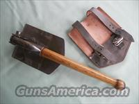 GERMAN FOLDING TRENCH SHOVEL
