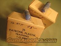 7.65 MM TRAINING PLASTIC 50 ROUNDS