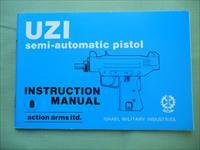 UZI 9mm And 45 Semi-Auto Pistol Instruction Manual