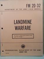 FM 20-32 US Army LANDMINE WAREFARE August 1966