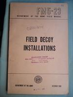 FM5-23 FIELD DECOY INSTALLATIONS OCT 1956