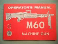 Technical Manual 9-1005-224-10 M60 Operator Manual.. OCT 1970