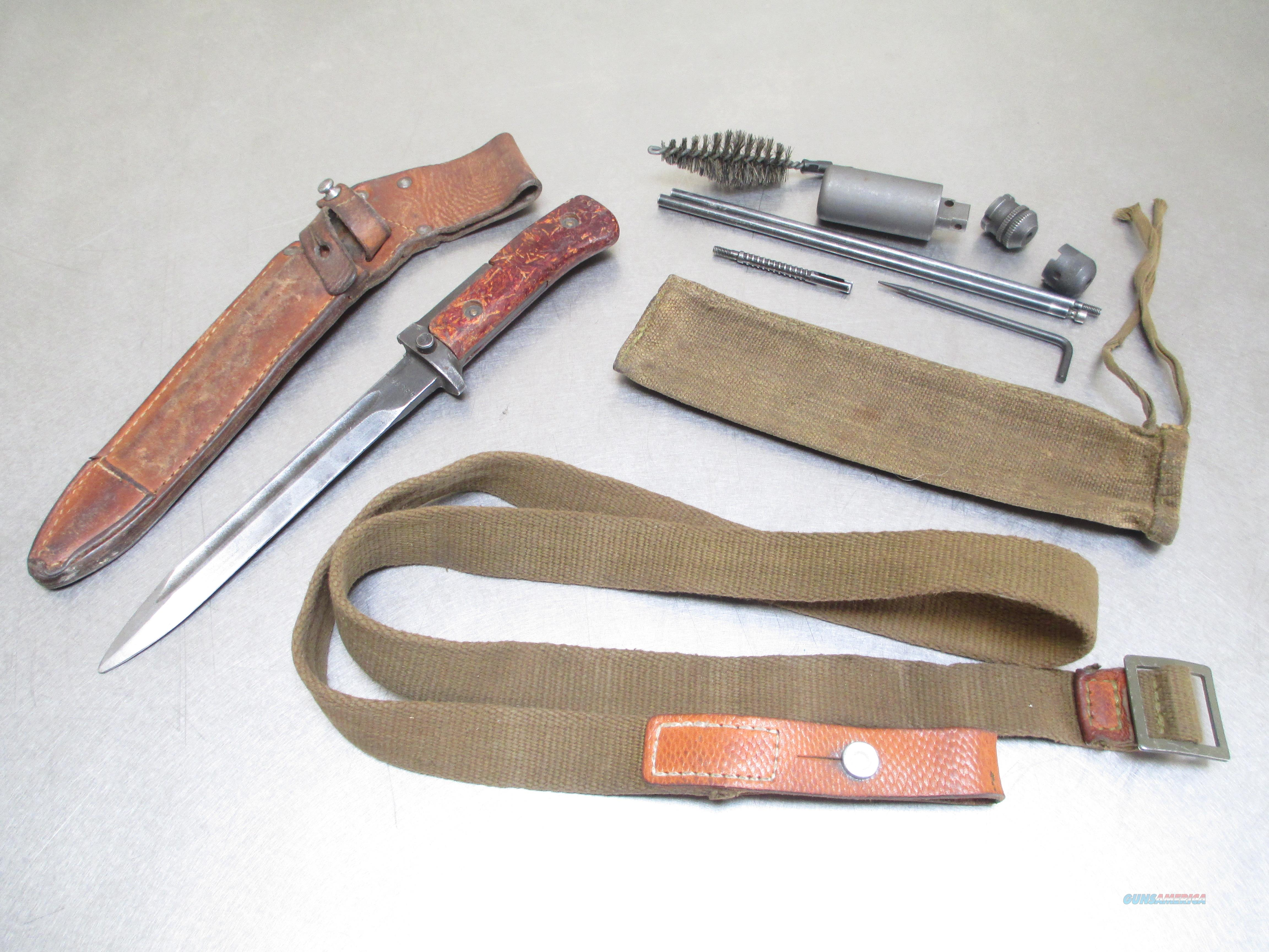 VZ58 SMG ACCESSORIES SET BAYONET- SLING- CLEANING KIT