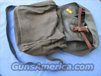 Vintage WWI WWII Swiss Army Military Canvas Leather Messenger Bread Surplus Bag