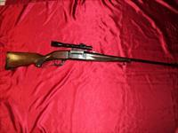 SAVAGE 99 LEVER ACTION W/ SCOPE