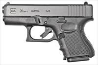 GLOCK PG2650201 4TH GEN MODEL 26 9MM SUBCOMPACT