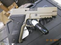 SIG SAUER 226 MK-25-D 9MM PISTOL IN FDE FINISH