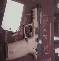 S&W M&P COMPACT 22 IN FDE WITH T/B
