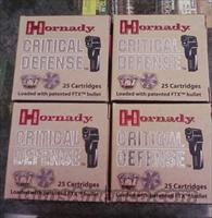 HORNADY 9mm CRITICAL DEFENSE IN 250RD CASE