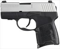 SIG SAUER P290RS-9-TSS 9MM SUB COMPACT PISTOL