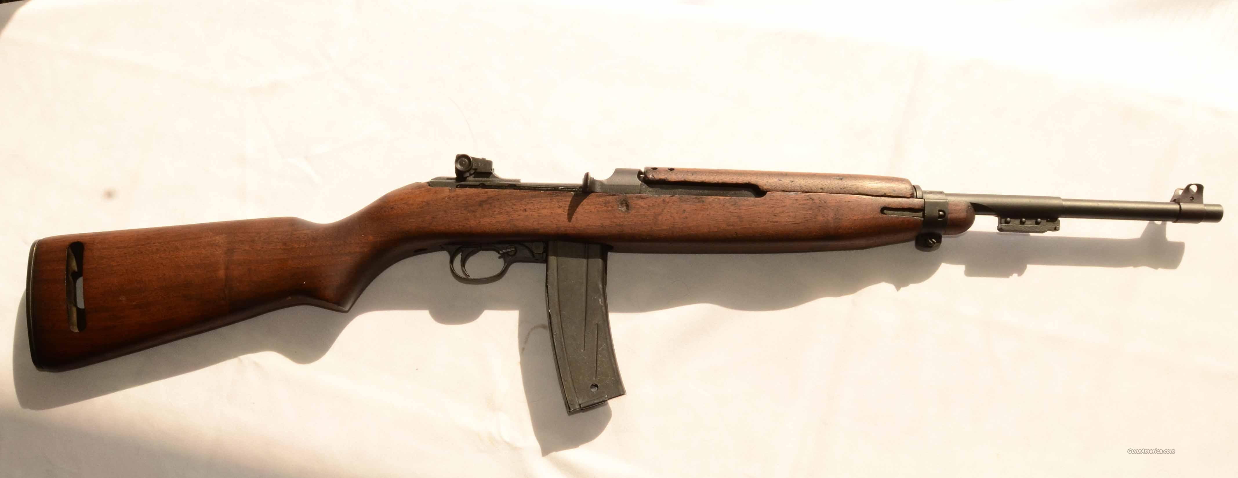 M2 CARBINE, WWII VINTAGE, UNFIRED, FULL-AUTO