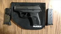 Ruger LC9s Pro, Nite Sights, 3 Mags & Techna Clip