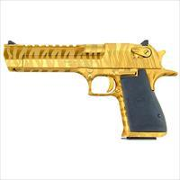 Desert Eagle 50AE MK19 Titanium Gold w/Tiger Strip