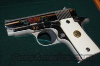 *RARE* 1 of 100 Engraved Colt CERAMIC Mustang 380 ACP ~ SPECIAL EDITION Mfg 1990 ~ MINT
