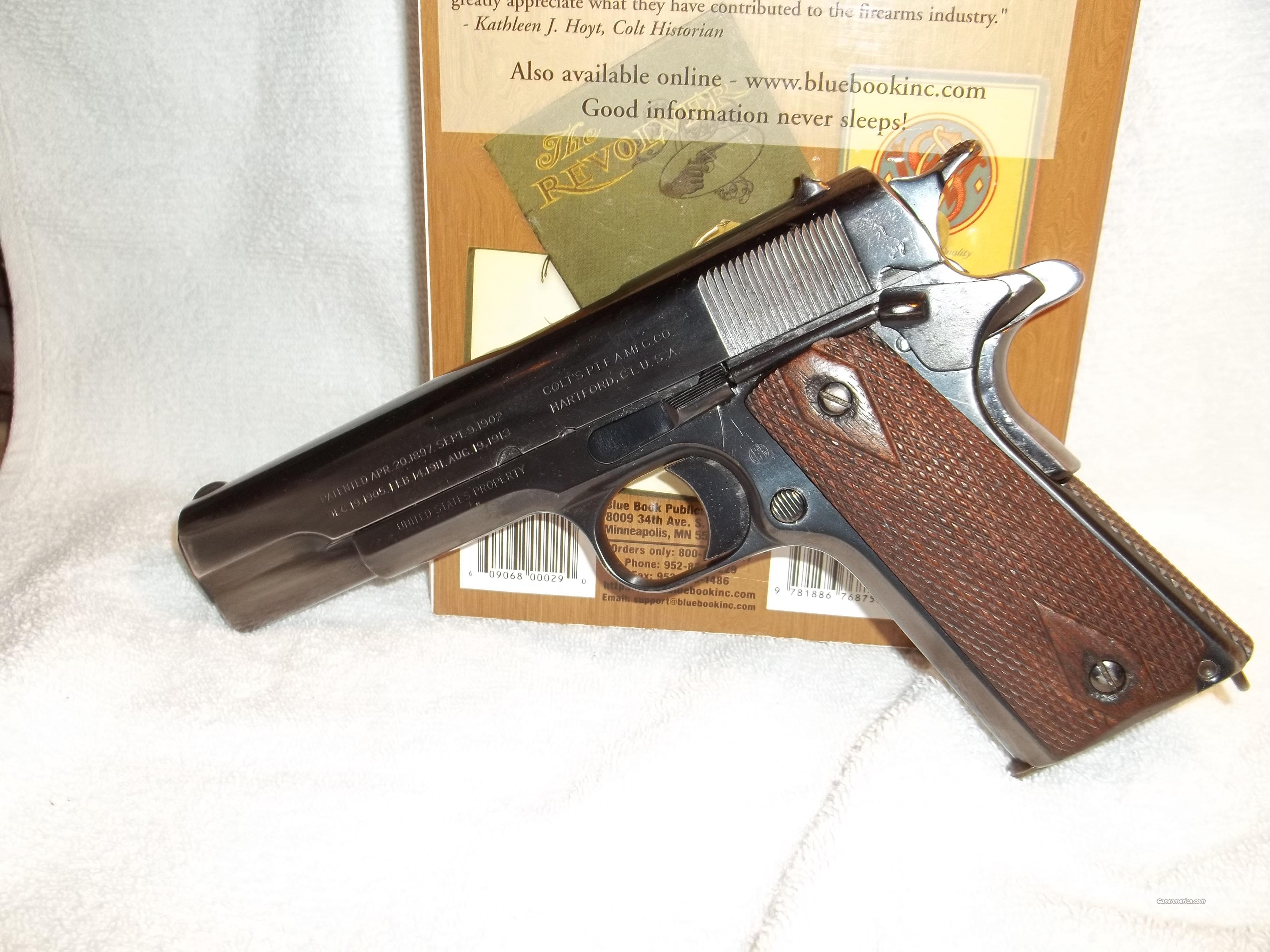 Colt 1911 WW1 Original 45 cal