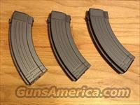 AK47 30 round Metal Magazines(3) Heavy Duty 7.62x39mm New AK-47 mags