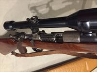 Custom Engraved Mahrholdt Peter Longo in 220 Swift with Carl Zeiss custom mounted scope