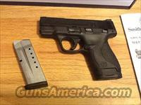 S&W M&P 9 Shield in 9mm Smith and Wesson 9 shield New in box and no card fees added at Deals on Guns