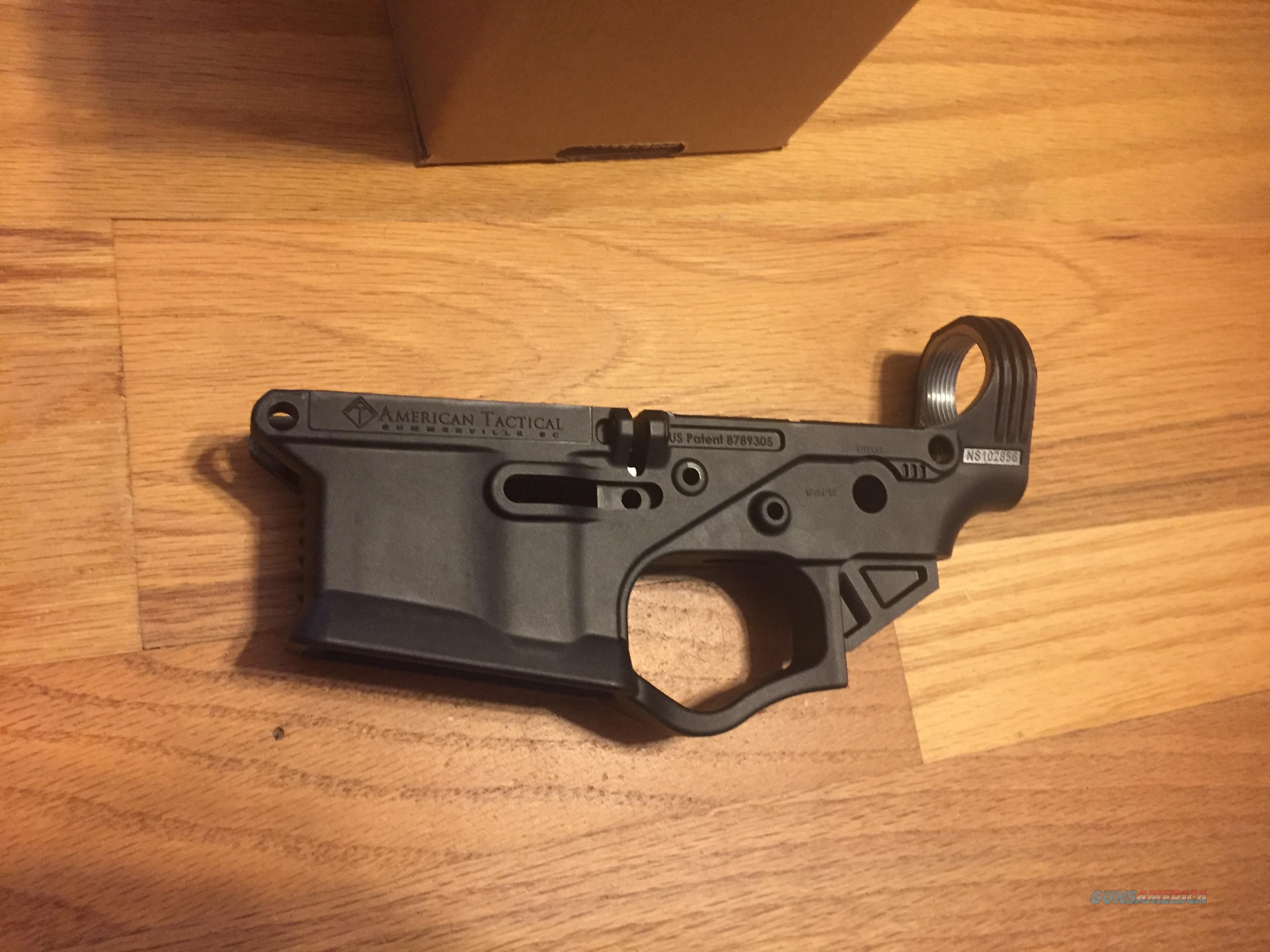 AR15 ATI Omni Hybrid Multi-Cal Stripped Lower Receiver Black ( Free  Shipping ) New in Box (No card f