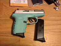 SCCY CPX2 TTSB Sky Blue &  S.Steel 9mm semi-auto New in box