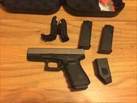 Glock 19 Gen 4 9mm with Nickel Boron (NIB ONE) coated slide and barrel G19 NiBX Gen4 New in Case (No card fees added at Deals on Guns)