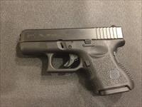 Glock 26 Gen 3 9mm sub compact in like new condition G26 in original hard case (no card fees added)