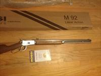 "Rossi M92 Stainless Steel Lever Action .45 Colt 24"" Octagonal Barrel New in Box"