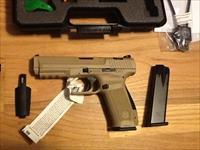 TP9 SA Canik by Century Arms International (CAI)  9mm Desert Tan w/two 18rnd mags TP-9 New in Case