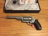 The Judge by Taurus in .410 gauge and .45 Colt Stainless Steel Magnum Judge New in Box