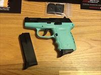 SCCY CPX2 CBSB Sky Blue & Carbon Black coated S.Steel 9mm semi-auto New in box