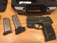 Sig Sauer P290 9mm with Sig Laser/Night sights Sig 290 Like New in original case (No card fees added )