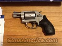 S&W 637 Chiefs SPC Airweight in .38 special+P Stainless Steel Revolver 637 New in box (same as 642 but has visable hammer)