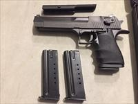 Magnum Research Desert Eagle (made in Israel) .44 Magnum w/3 magazines,night sights, optics mount, Desert Eagle Like New in case (No card fees added )