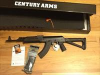 AK47 Century Arms RAS47 in 7.62 x39mm W/ Magpul/Moe Furniture 100% Made in the USA AK-47 New in box