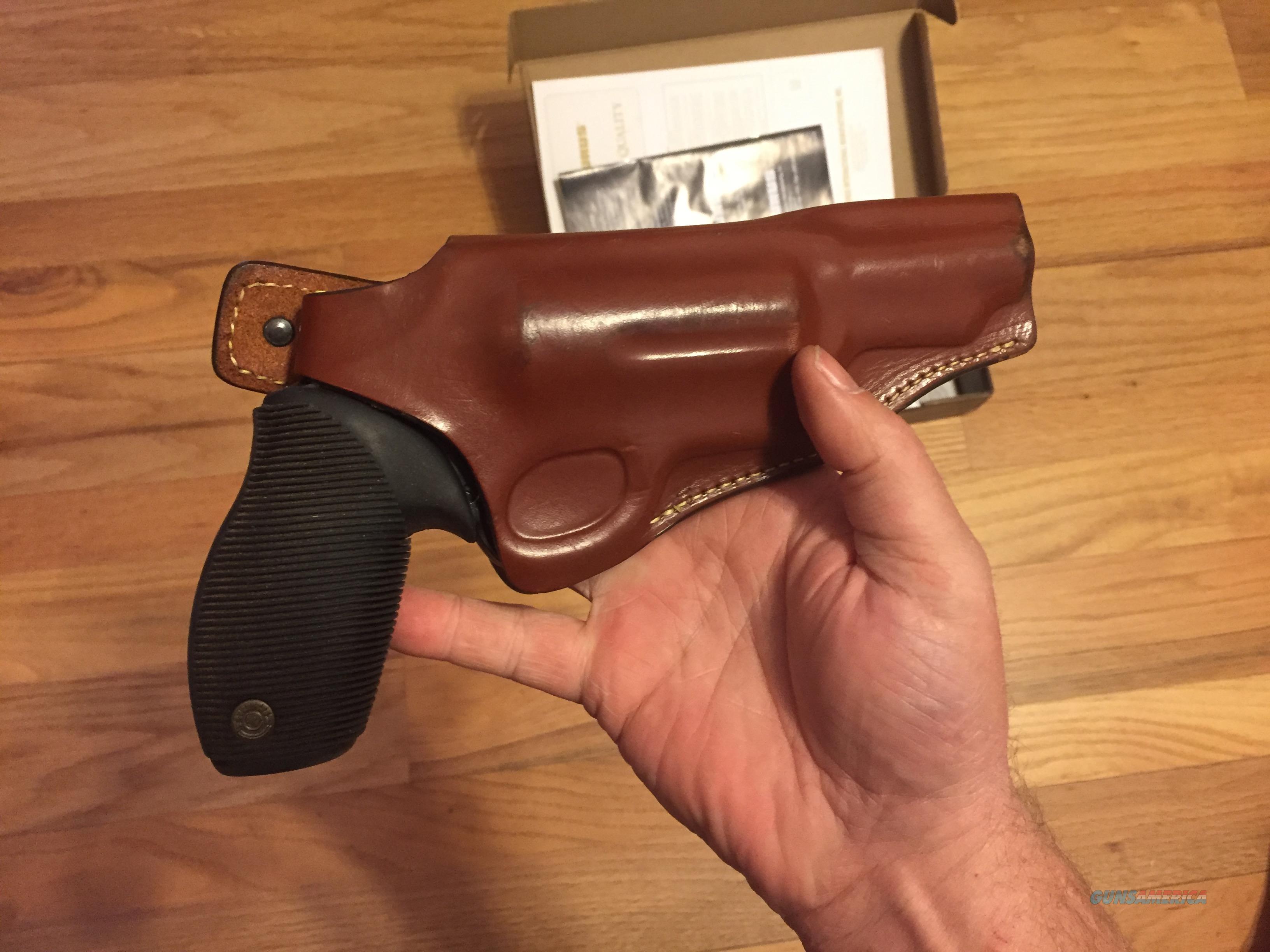 Public Defender Magnum Taurus Judge Custom Leather Holster