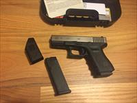 "Glock 19 gen 3  in 9mm Nickel Boron Coated(NiBX) ""NIB Battleworn"" G19 new in case No Card Fees Added"