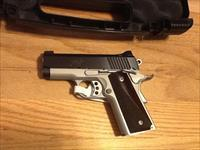 1911 Kimber 45 Ultra Carry II two tone in .45acp New in case