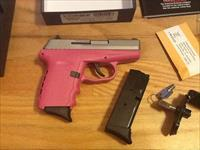 SCCY CPX2 TTPK Pink & S.Steel 9mm semi-auto New in box