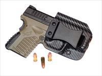 Aggressive Concealment XDSIWBLPCF-RH IWB Kydex Holster Springfield XDS 3.3 9/45